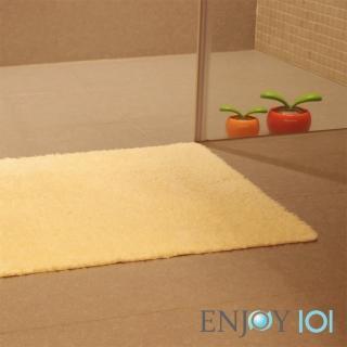 【ENJOY101】浴室吸水防滑抑菌地墊(加厚升級-40x60cm)