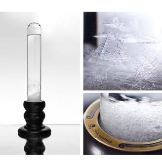 【Mr.sci 賽先生科學】Storm glass 復古圓柱風暴球