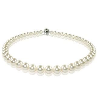 【小樂珠寶】3A南洋深海貝珍珠項鍊★白色(熱賣萬條了)