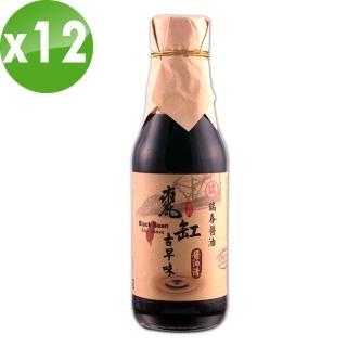 【瑞春醬油】甕缸古早味醬油清油X12瓶