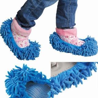 【iSFun】快速到貨-清潔妙手纖絨毛除塵鞋套/隨機色