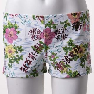 【SAIN SOU】大女外搭海灘褲(A36240)