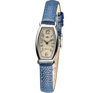 【Rosemont】玫瑰皇后時尚錶(TRS-018-03-BU 深藍)