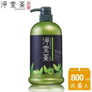 【茶寶 淨覺茶】茶籽蔬果碗盤洗潔液(6瓶組)