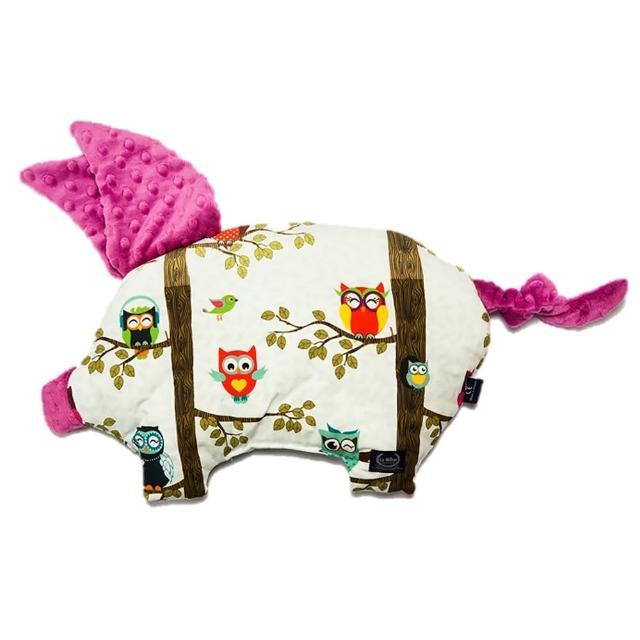 【La Millou】豆豆小豬枕-嬰兒枕(多款可選)