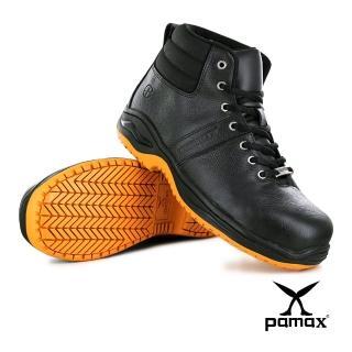 【PAMAX 帕瑪斯】頂級專利抗菌氣墊、高筒止滑安全鞋、防穿刺鋼頭鞋、抗滑鞋(PA5902HP /男)