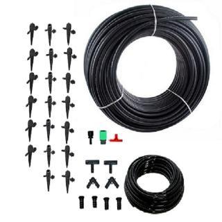 【灑水達人】16mmPE管10公尺可調滴頭插針套裝組合