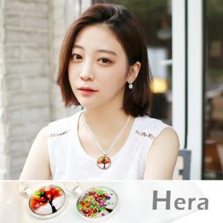【Hera】赫拉 歐美簡約風時光繽紛樹項鍊/半長鍊(二款任選)