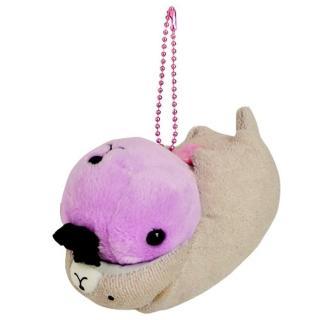 【Kapibarasan】水豚君水族館系列公仔吊飾(海獺暴走君)