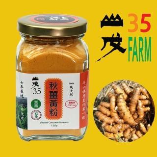 【台灣山戊35】秋薑黃粉120g/罐(SGS合格)