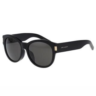 【Saint Laurent Paris】-時尚太陽眼鏡(黑色)