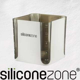 【Siliconezone】520ml施理康耐熱立方造型計量杯&計量匙(黑)
