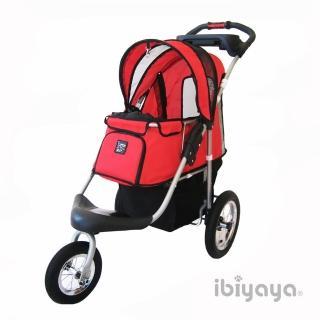 【IBIYAYA依比呀呀】充氣胎冠軍子彈推車-紅(FS801)