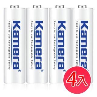【Kamera】3號 低自放充電電池(4入)
