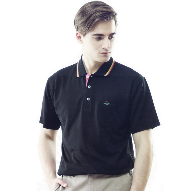 【per GIBO】吸溼排汗男版短POLO衫-黑(PT121904)比較推薦