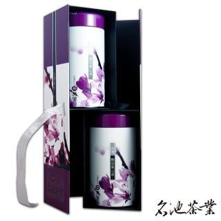 【名池茶業】大禹嶺高山茶手採茶葉禮盒 茶美學款(150公克x2)