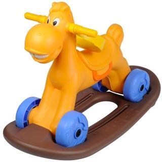 【寶貝樂】可愛小馬學步車/助步車附搖搖板