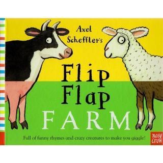 【Song Baby】Flip Flap Farm 農場動物大合體(美國版精裝翻頁書)
