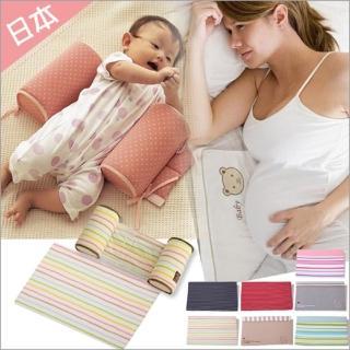 【JoyNa】嬰兒定型枕防側翻枕頭+三角枕(2件組)