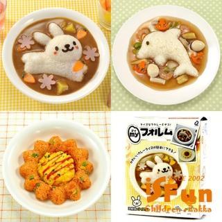 【iSFun】動物模具*DIY壽司飯團餅乾4件組