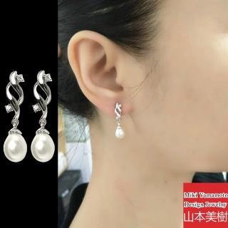 【山本美樹】維納斯 淡水珍珠耳環(針式)