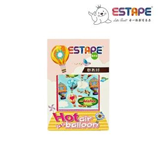 【ESTAPE】隨手貼OPP熱氣球卡(藍天探險)