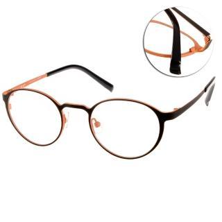 【JULIO眼鏡】完美工藝(黑-橘#KOELN BLK-OR)