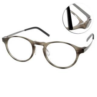 【JULIO眼鏡】完美工藝(灰-銀#SHANGHAI BLKG)