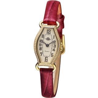 【玫瑰錶 Rosemont】骨董風玫瑰系列腕錶(TRS024-05-RD)