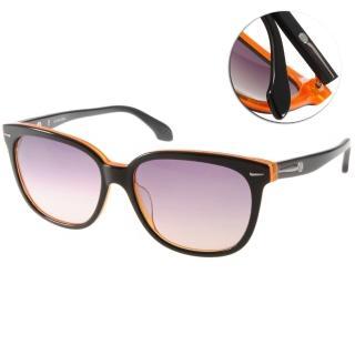 【Calvin Klein太陽眼鏡】熱銷經典款眼鏡(黑-橘#CK4215S 090)