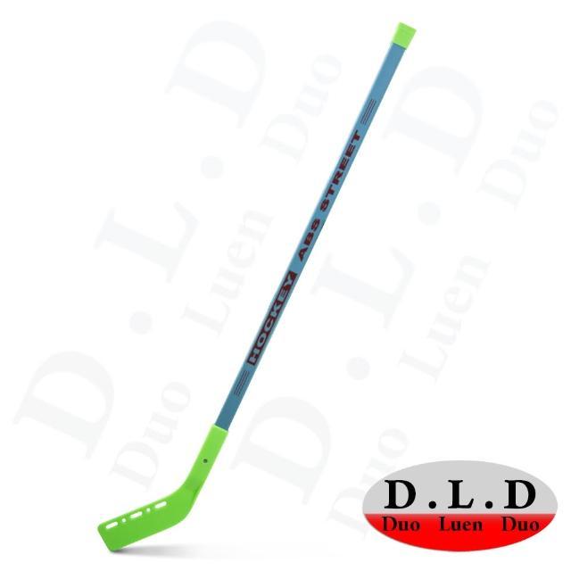 【D.L.D多輪多】專業直排輪兒童ABS曲棍球桿(綠色 兩入一組)