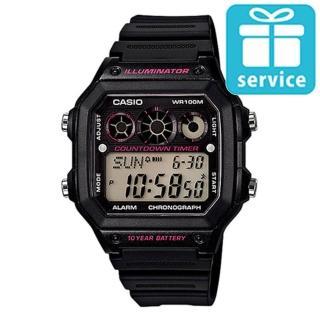 【CASIO】十年電池數位錶(AE-1300WH-1A2)