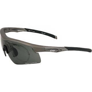 【ZIV 運動太陽眼鏡】Flying可拆換式光學內視鏡 偏光款眼鏡(霧灰#33-B104005)