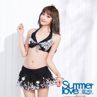 【夏之戀SUMMER LOVE】俏麗比基尼三件式泳衣(E15712)