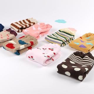 【JoyNa】防滑加厚毛圈純棉襪套(三雙入)