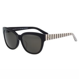 【Kate Spade】-時尚紋路 太陽眼鏡(黑色)