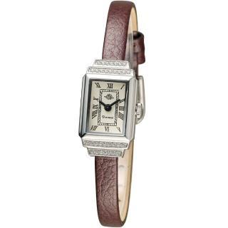 【玫瑰錶 Rosemont】骨董風玫瑰系列時尚腕錶(TRS36-03-RM-BR)