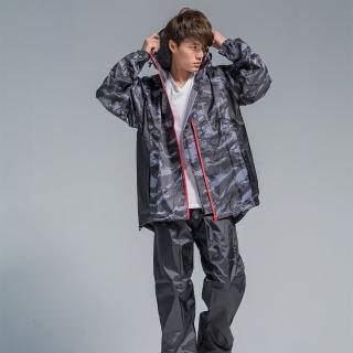 【OutPerform雨衣】玩酷率性兩件式風雨衣(機車雨衣、戶外雨衣)