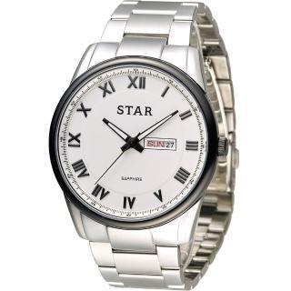 STAR 時代 羅馬戰士石英腕錶 1T1512-211S-W