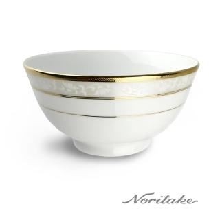 【NORITAKE】花舞春風金邊麵碗(16cm)