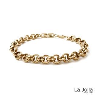 【La Jolla】重金屬I代 純鈦手鍊(兩色)