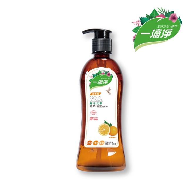 【楓康】一滴淨蘆薈多酚洗碗精 柑橘精油(450g)