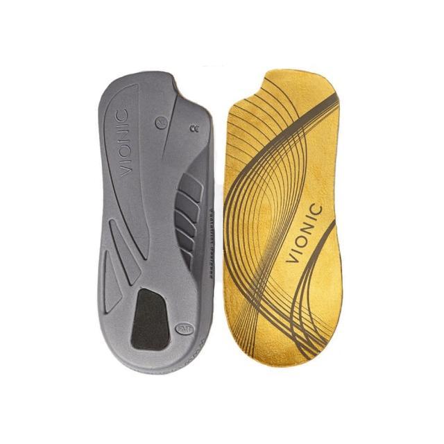 【美國VIONIC法歐尼】黃色3/4型矯正鞋墊(不分男女)