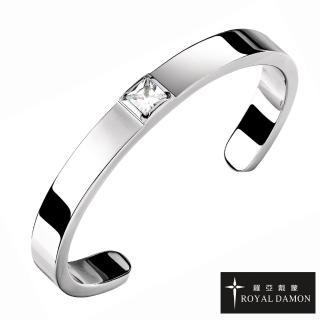 【ROYAL DAMON 羅亞戴蒙】只有你 手環 大(BK530)