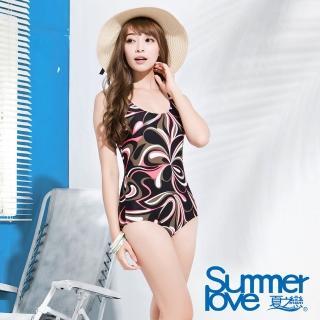 【夏之戀SUMMERLOVE】知性淑女連身三角泳衣(E15790)