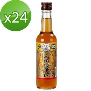 【大鵰】人參龜鹿藥酒300ml*24(乙類成藥)