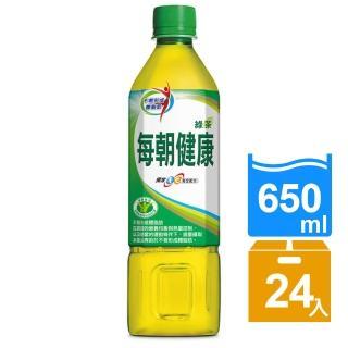 【御茶園】每朝健康綠茶650ml-24入(榮獲三項國家健康認證)