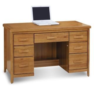 【顛覆設計】絲莉愛4.2尺柚木實木書桌
