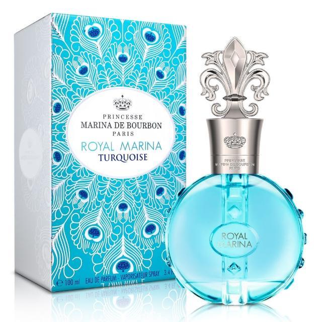 【Marina de bourbon】皇家璀璨藍寶石淡香精100ml(送品牌香氛小物)