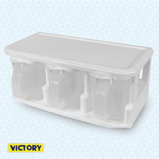 【VICTORY】三格收納調味盒#1131001